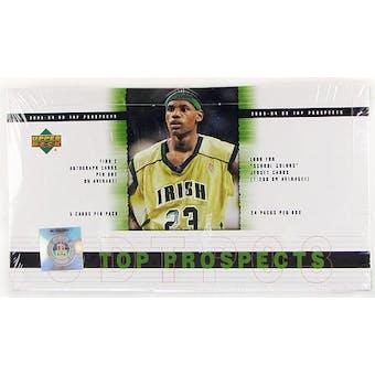 2003/04 Upper Deck Top Prospects Basketball Hobby Box