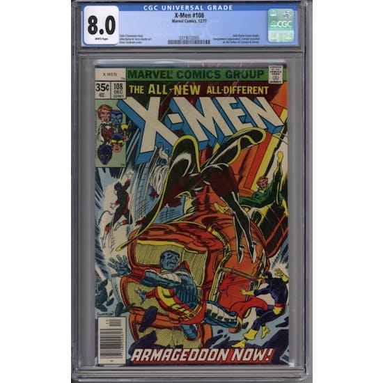 X-Men #108 CGC 8.0 (W) *0319012005*