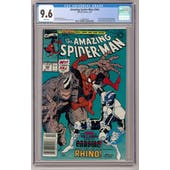 Amazing Spider-Man #344 CGC 9.6 (W) Newsstand *0326568003*