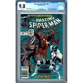 Amazing Spider-Man #344 CGC 9.8 (W) *0326568008*