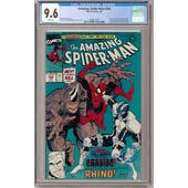 Amazing Spider-Man #344 CGC 9.6 (W) *0326612007*