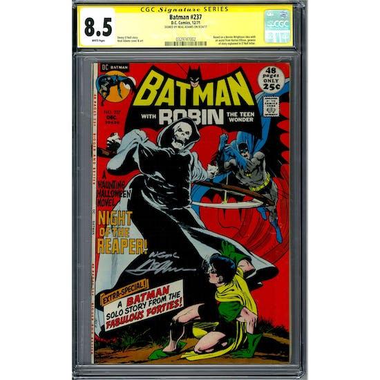Batman #257 CGC 8.5 Neal Adam's Signature Series (W) *0329747002*