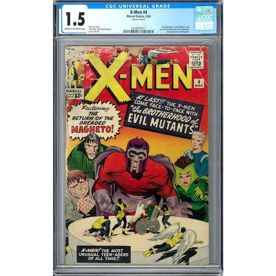 X-Men #4 CGC 1.5 (C-OW) *0329830017*