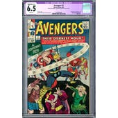 Avengers #7 CGC 6.5 Slight/Mod. (C-2) (W) *0330381004*