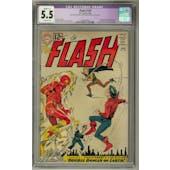 Flash #129 CGC 5.5 Slight (C-1) Restoration (OW) *0334554013*