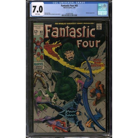 Fantastic Four #83 CGC 7.0 (W) *0336857008*