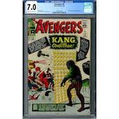Avengers #8 CGC 7.0 (OW-W) *0337315004*
