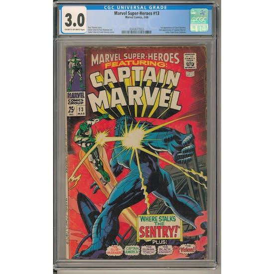 Marvel Super-Heroes #13 CGC 3.0 (C-OW) *0343617023*