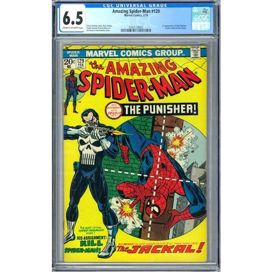 Amazing Spider-Man #129 CGC 6.5 (C-OW) *0345124002*