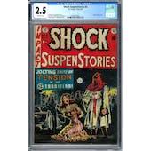 Shock SuspenStories #6 CGC 2.5 (OW) *0345147003*