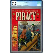 Piracy #4 CGC 7.0 (OW-W) *0348827007*