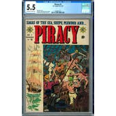 Piracy #1 CGC 5.5 (OW-W) *0348827010*