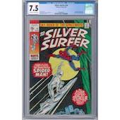 Silver Surfer #14 CGC 7.5  (OW-W)  *0349440013*