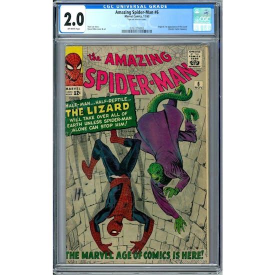 Amazing Spider-Man #6 CGC 2.0 (OW) *0357216002*