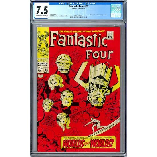 Fantastic Four #75 CGC 7.5 (OW-W) *0357224007*
