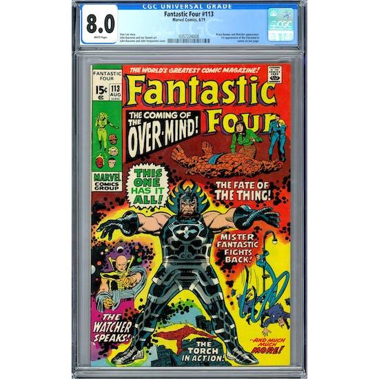 Fantastic Four #113 CGC 8.0 (W) *0357224008*