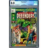 Marvel Feature #1 CGC 8.0 (OW-W) *0357224025*