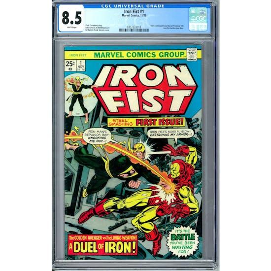 Iron Fist #1 CGC 9.0 (W) *0357233017*