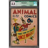 Animal Comics #2 CGC 3.5 (LT-OW) Qualified *0357300001*