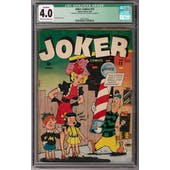 Joker Comics #15 CGC 4.0 (C-OW) Qualified *0357300023*