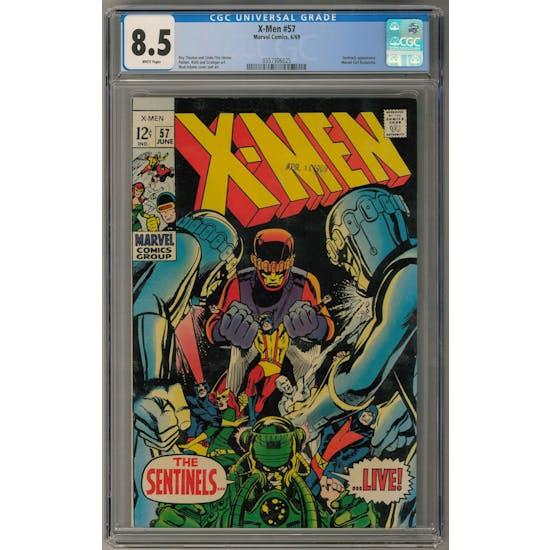 X-Men #57 CGC 8.5 (W) *0357306025*