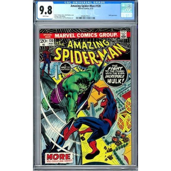Amazing Spider-Man #120 CGC 9.8 (W) *0358577011*