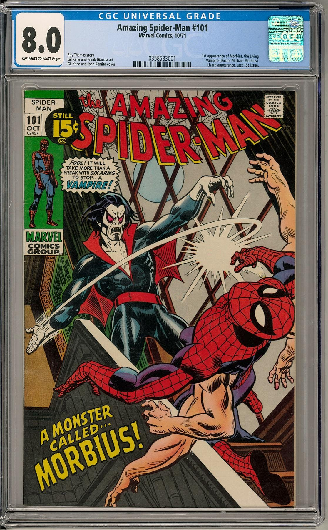2019 Hit Parade The Amazing Spider-Man Graded Comic ...