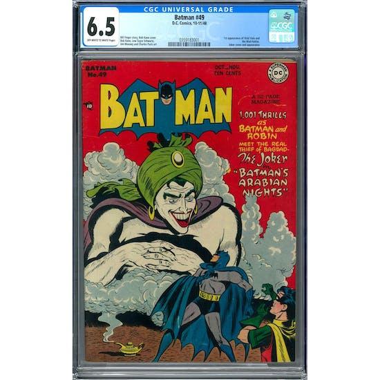 Batman #49 CGC 6.5 (OW-W) *0359183001*