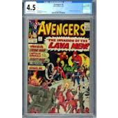 Avengers #5 CGC 4.5 (OW-W) *0359336002*