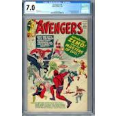 Avengers #6 CGC 7.0 (OW-W) *0359336003*