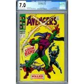 Avengers #52 CGC 7.0 (OW-W) *0359336009*