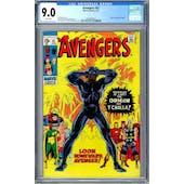 Avengers #87 CGC 9.0 (W) *0359336013*