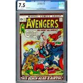 Avengers #93 CGC 7.5 (W) *0359336015*