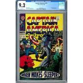 Captain America #101 CGC 9.2 (W) *0359336017*