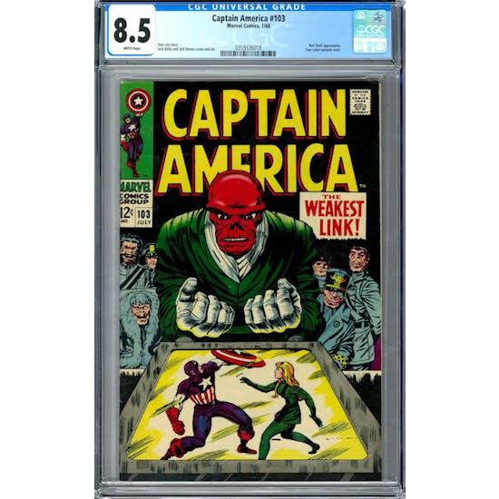 Captain America #103 CGC 8.5 (W) *0359336018*