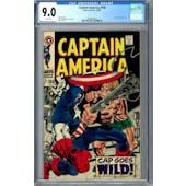 Captain America #106 CGC 9.0 (W) *0359336019*