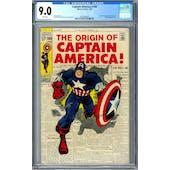 Captain America #109 CGC 9.0 (W) *0359336020*