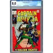 Captain America #118 CGC 8.0 (W) *0359336023*