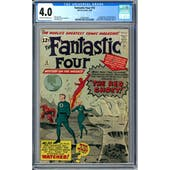 Fantastic Four #13 CGC 4.0 (OW-W) *0359342005*