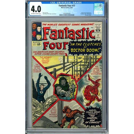 Fantastic Four #17 CCG 4.0 (OW-W) *0359342009*