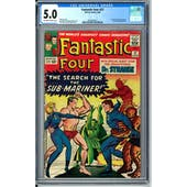 Fantastic Four #27 CGC 5.0 (OW-W) *0359342014*
