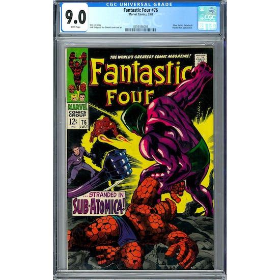 Fantastic Four #76 CGC 9.0 (W) *0359346003*