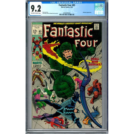 Fantastic Four #83 CGC 9.2 (OW-W) *0359346004*