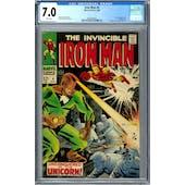 Iron Man #4 CGC 7.0 (W) *0359346007*