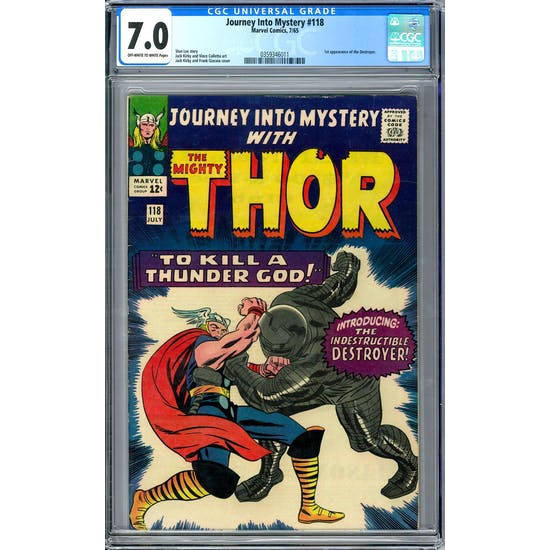 Journey Into Mystery #118 CGC 7.0 (OW-W) *0359346011*