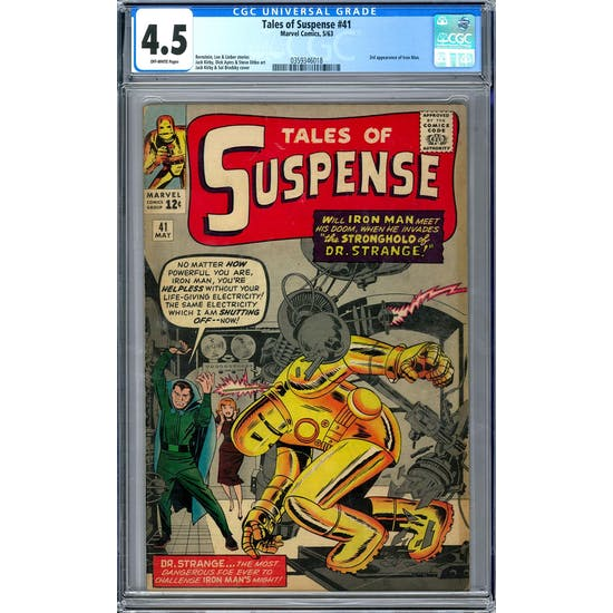 Tales of Suspense #41 CGC 4.5 (OW) *0359346018*