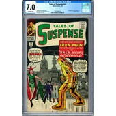 Tales of Suspence #43 CGC 7.0 (W) *0359346019*