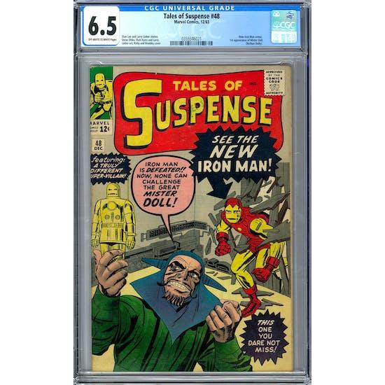 Tales of Suspense #48 CGC 6.5 (OW-W) *0359346021*