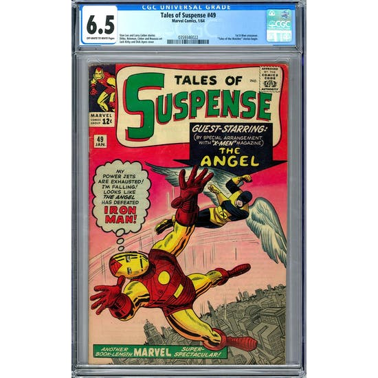Tales of Suspense #49 CGC 6.5 (OW-W) *0359346022*