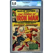 Tales of Suspense #58 CGC 5.0 (OW) *0359346023*